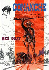 Kansi: Comanche - Red Dust
