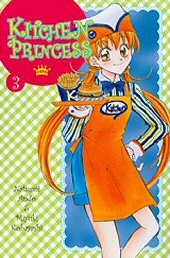 Kansi: Kitchen Princess 3
