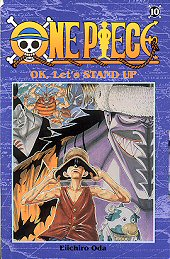 Kansi: One Piece - OK, Let's STAND UP